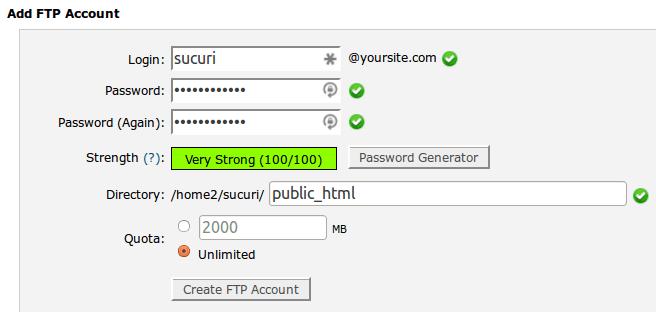 HostGator Account Creation