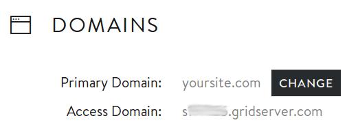 MediaTemple Access Domains