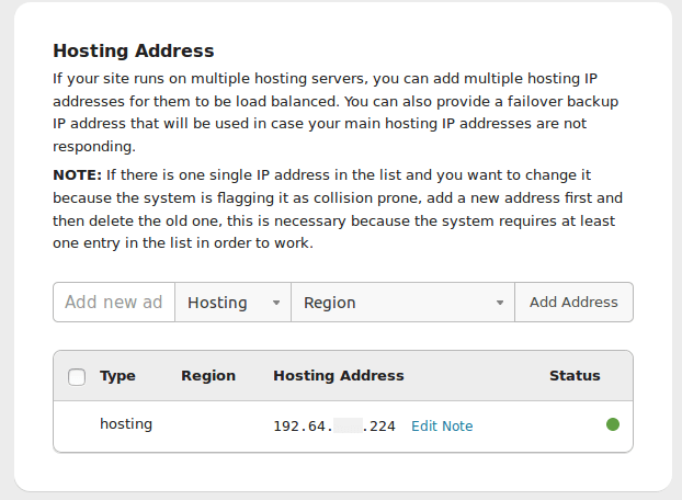 Change Hosting IP (Migrating Web Hosts) | Sucuri Docs